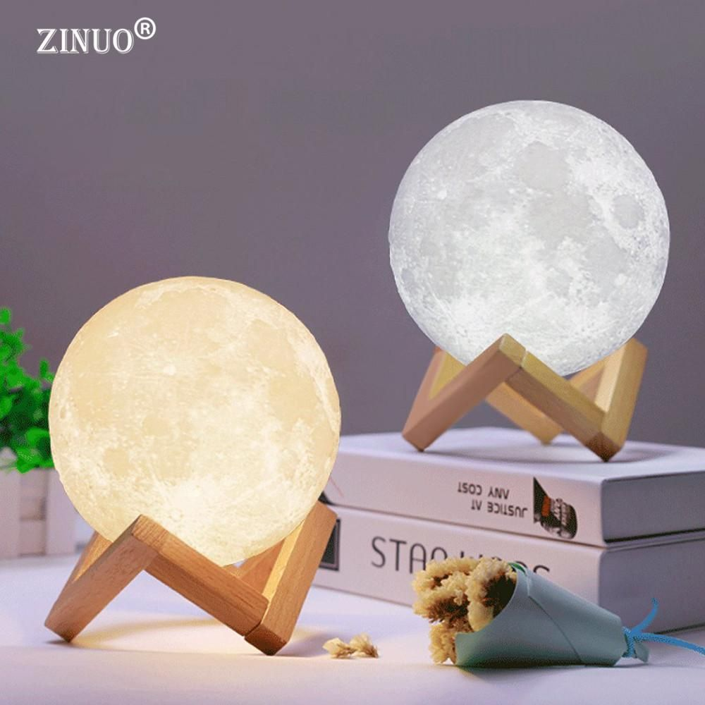 Dazzling Rechargeable 3d Touch Moon Lamp Twosugarsplease Moon Light Lamp Lamp Led Night Light