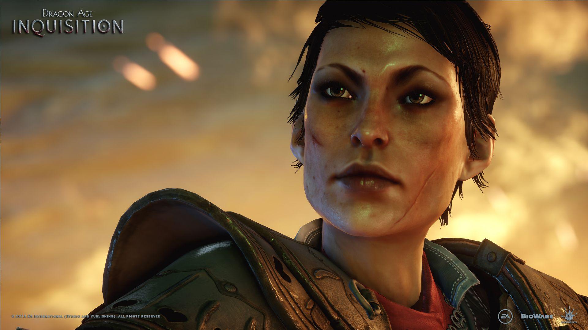 Cassandra From The E3 Teaser Trailer Dragon Age Dragon Age Inquisition Cassandra Dragon Age