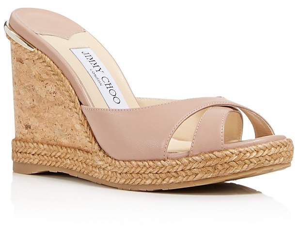 Jimmy Choo Snakeskin-Trimmed Slide Sandals geniue stockist get to buy cheap online 100% original cheap price discounts cheap price WIqOBLv3