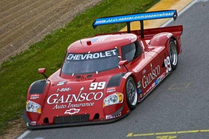 Bob Stallings Racing Gainsco Corvette The Red Dragon Sports