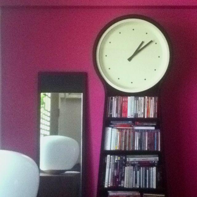 Nice and new ikea ps pendel clock for Ikea horloge
