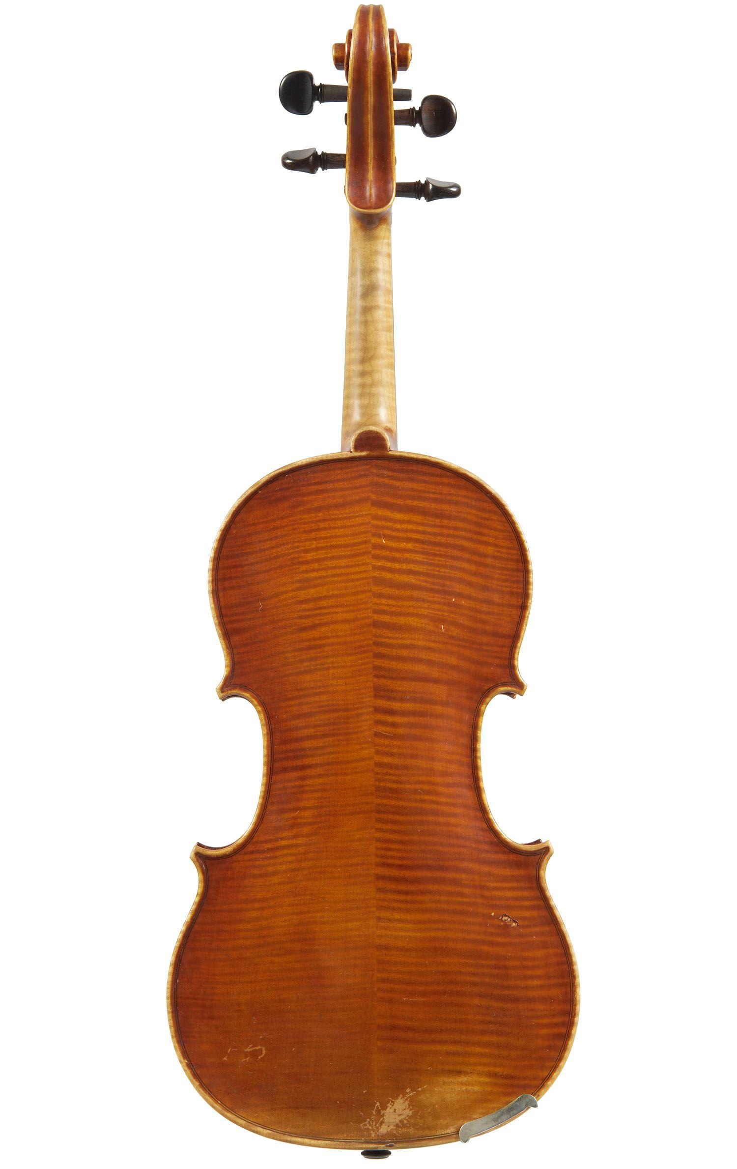 A Fine Italian Violin by G B Morassi Cremona 1965
