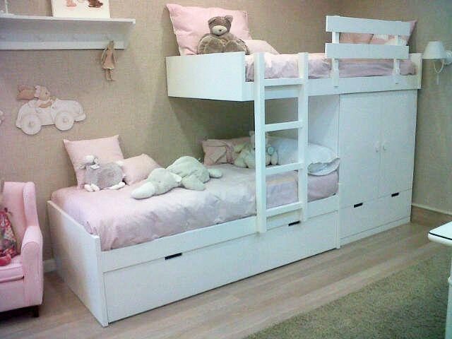 Resultado de imagen de cama tren ikea habitaciones - Camas de ikea ...