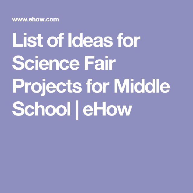 list of science projects Our collection is all our favorite preschool science ideas  this amazing list of  science experiments will keep all ages busy all the  the most simplest of  science projects with no waste because it's completely edible.