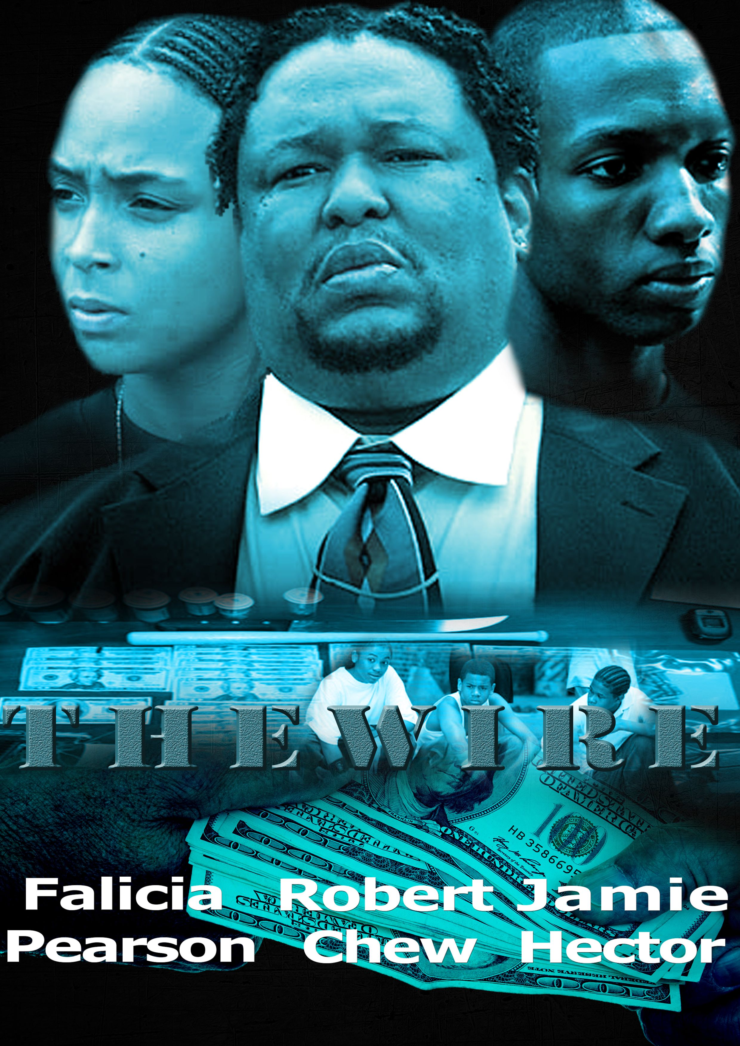 This a movie poster that I created (The Wire) | Photoshop Artwork ...