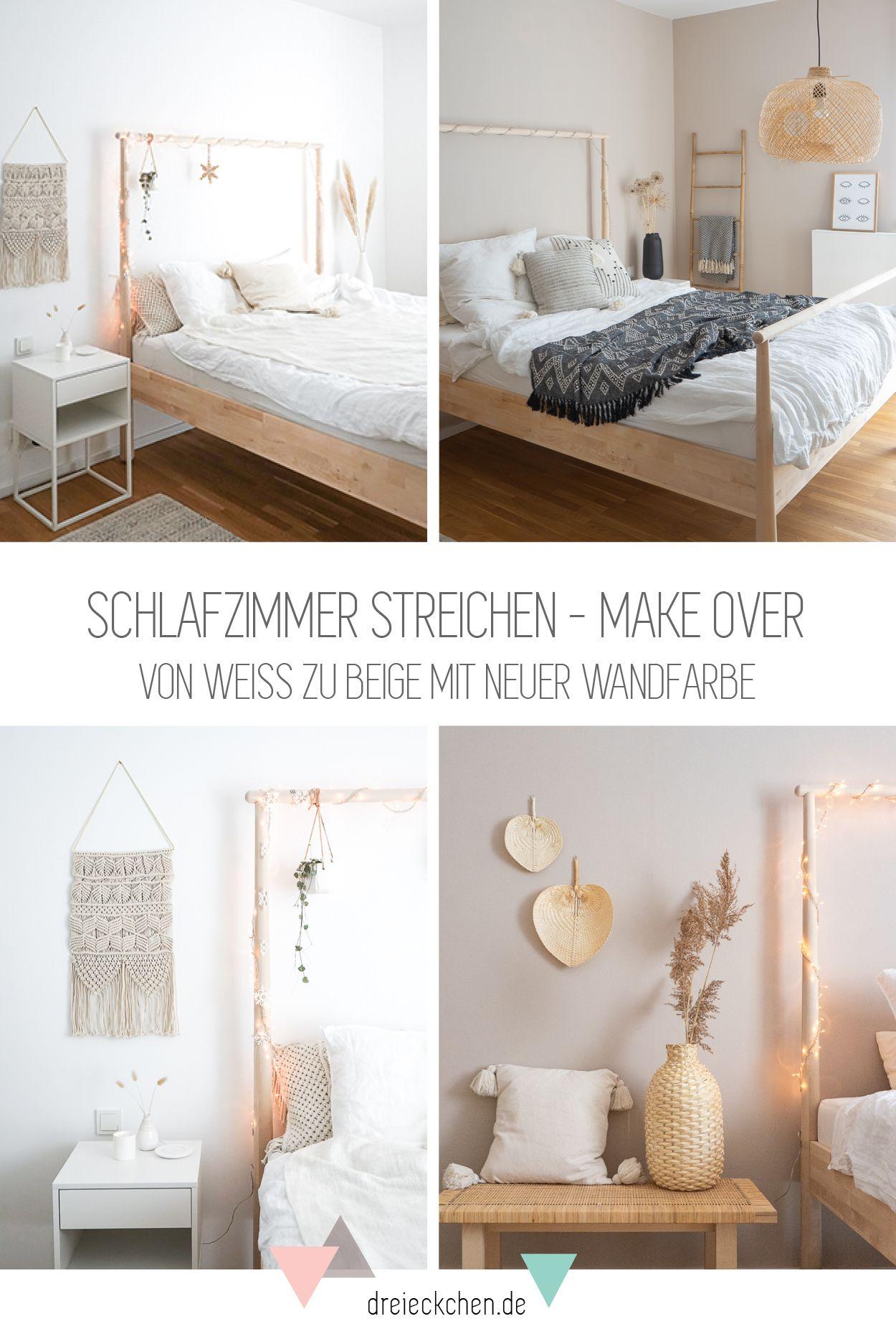 Von Weiss Zu Beige Mit Neuer Wandfarbe Schoner Wohnen
