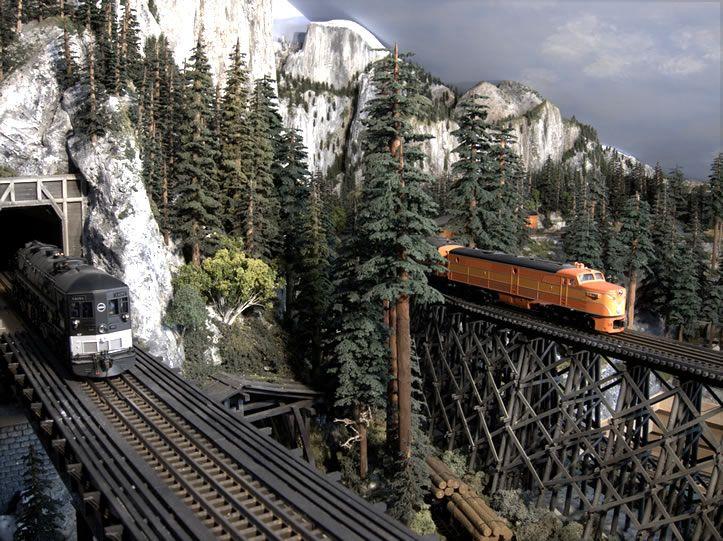 model railroad bridges | Bridge Model, Train Model Bridges