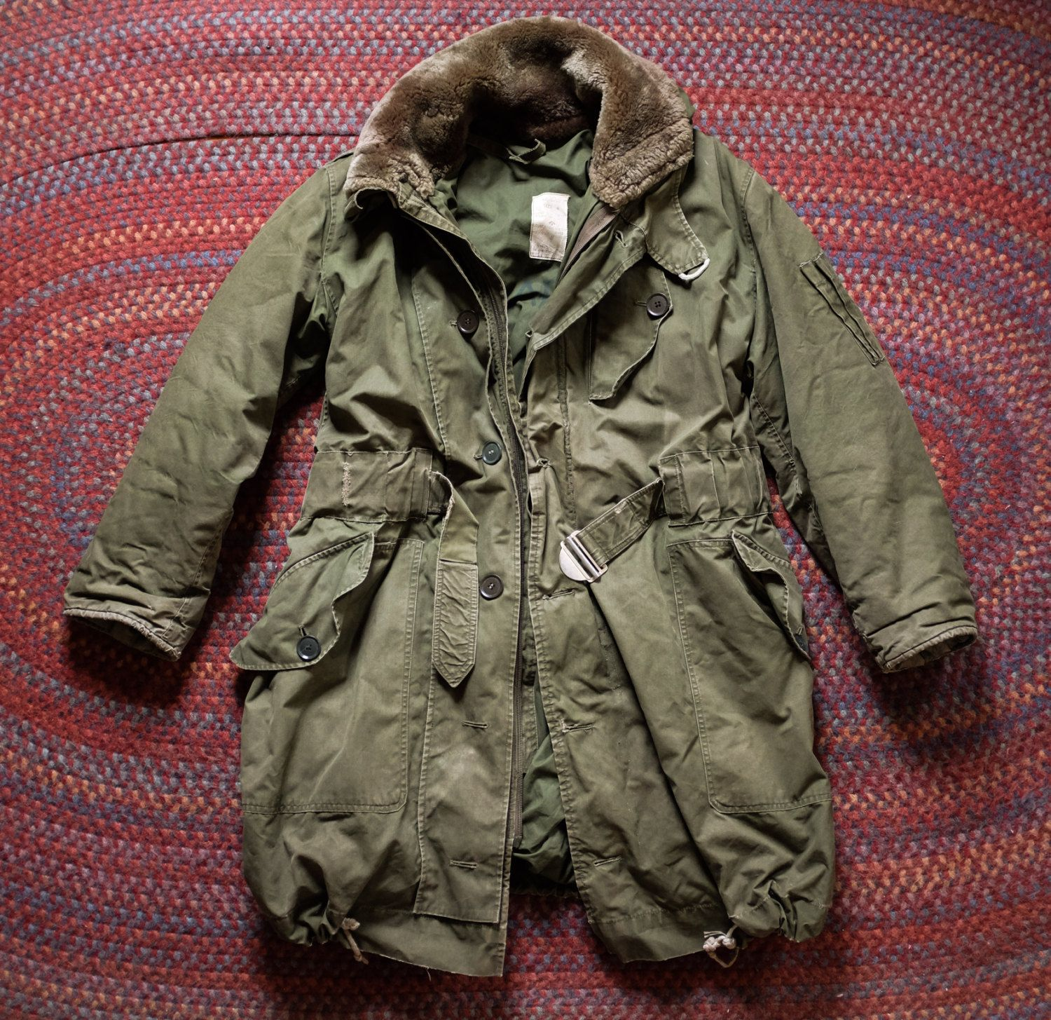 ffa9c997fc19 1950 s RAF Ventile Extreme Cold Weather Survival Parka Flight Jacket WW2  WWII…