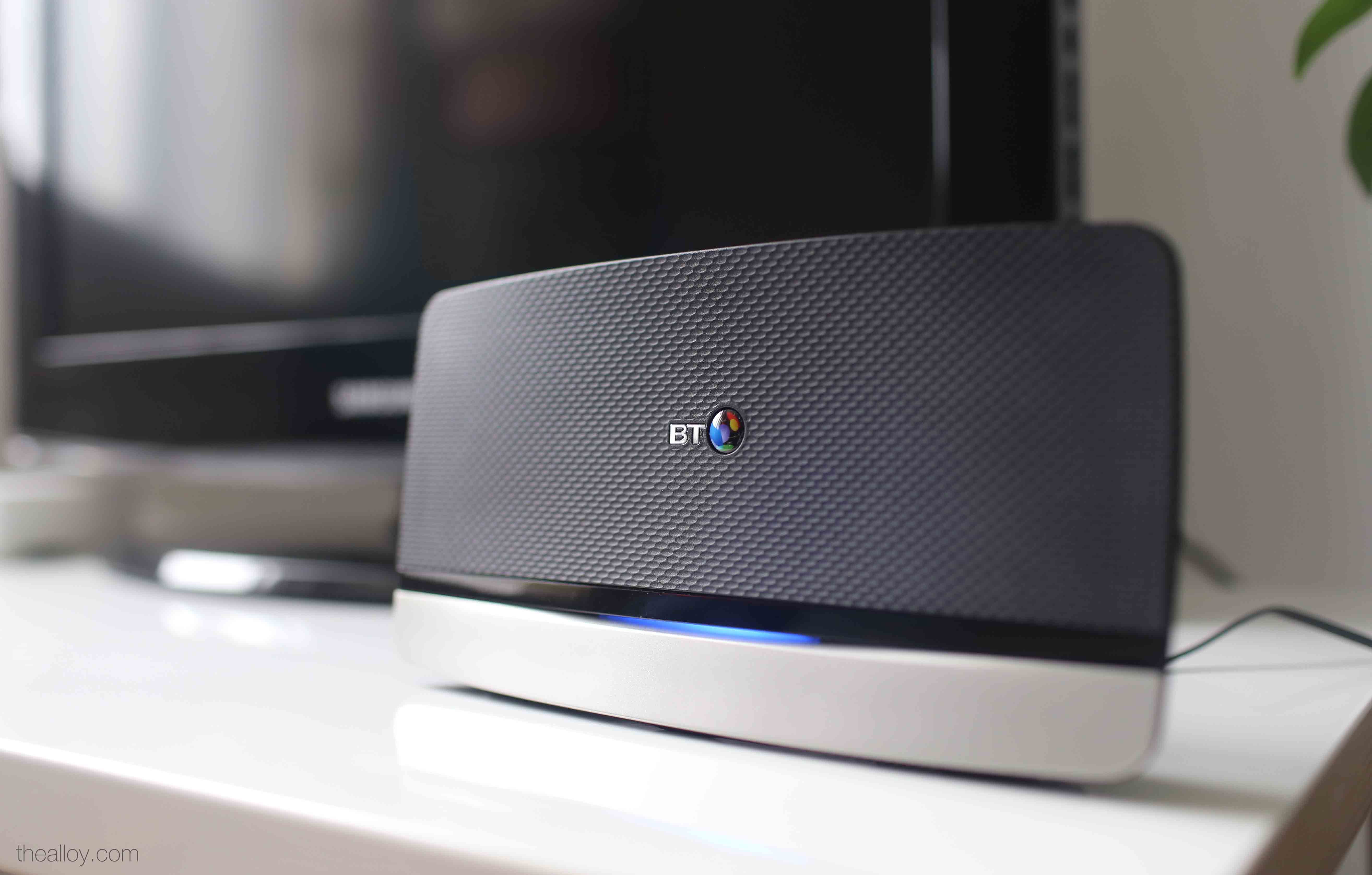 The Latest Bt Hub 4 Designed By The Alloy In Collaboration With Bt Reward Card Broadband Design