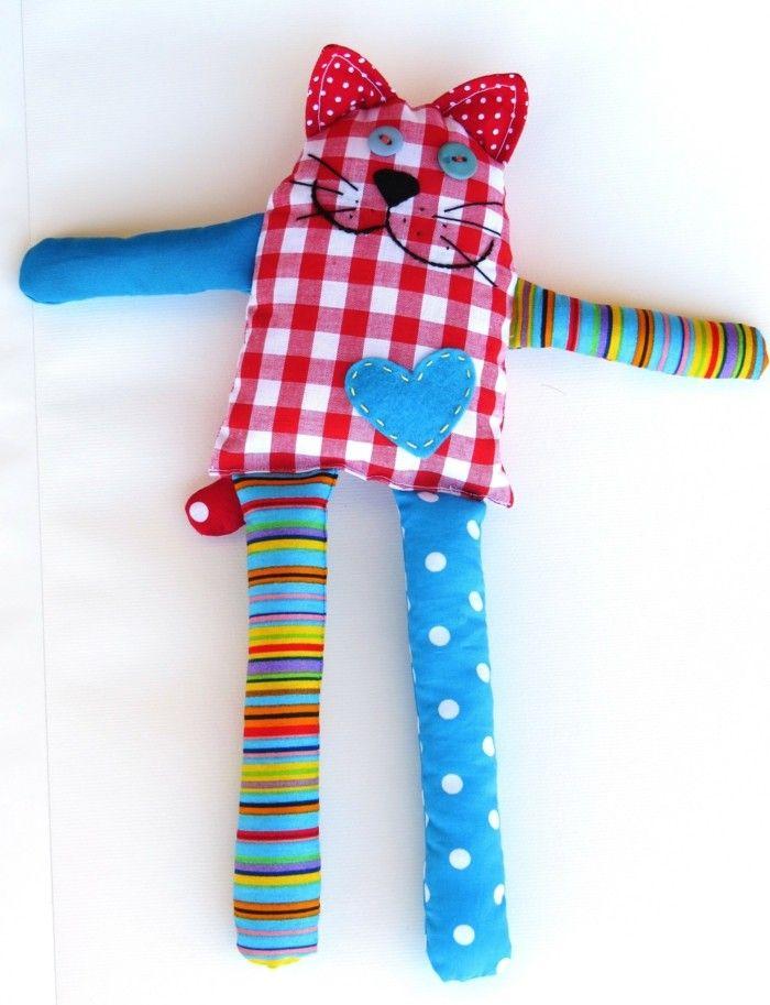 Кatzenspielzeug selber machen - 65 prickelnde Ideen und Beispiele dafür #stuffedtoyspatterns