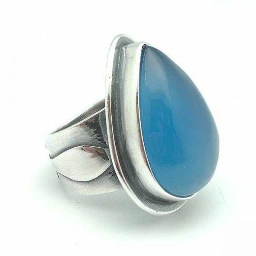 Resultado de imagen para calcedonia rings