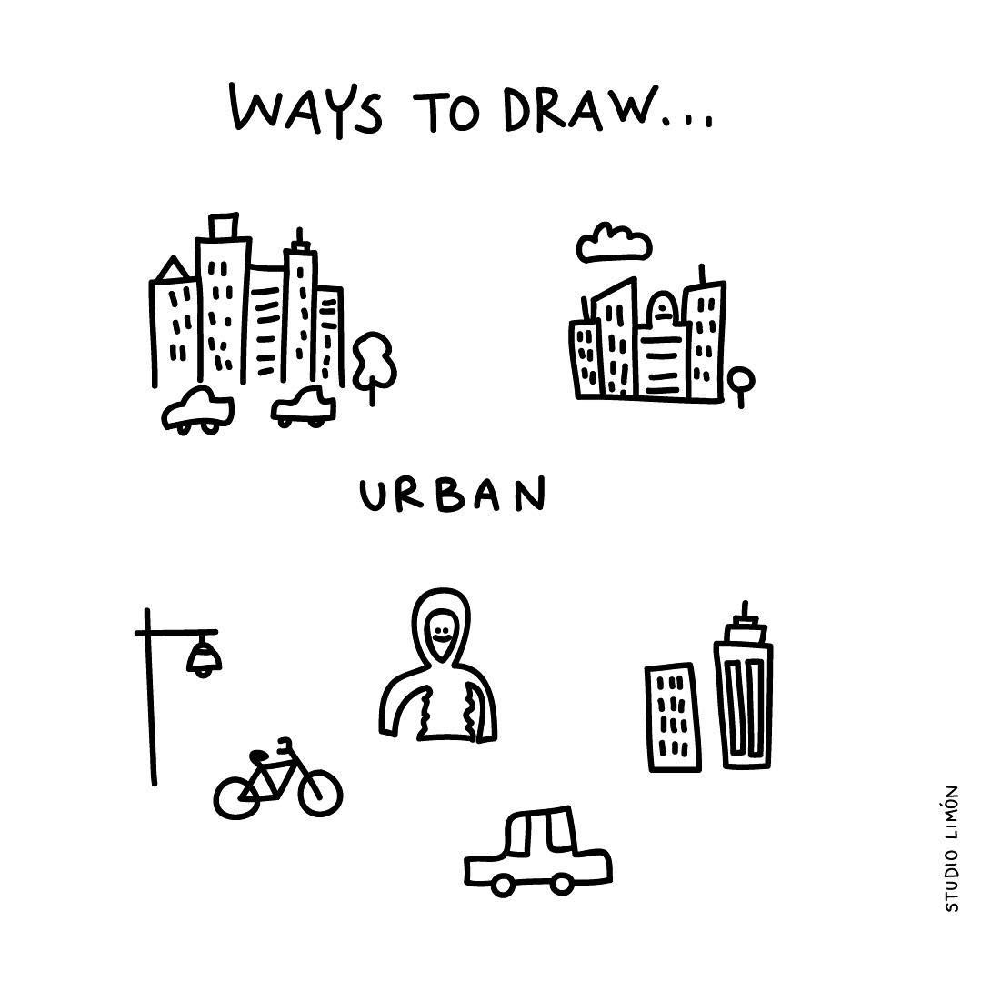 City Vibes Word Of Day 22 Urban Waystodraw City Draw Drawing Visualvocabulary Howtodraw Sketch Notes City Drawing Visual Metaphor