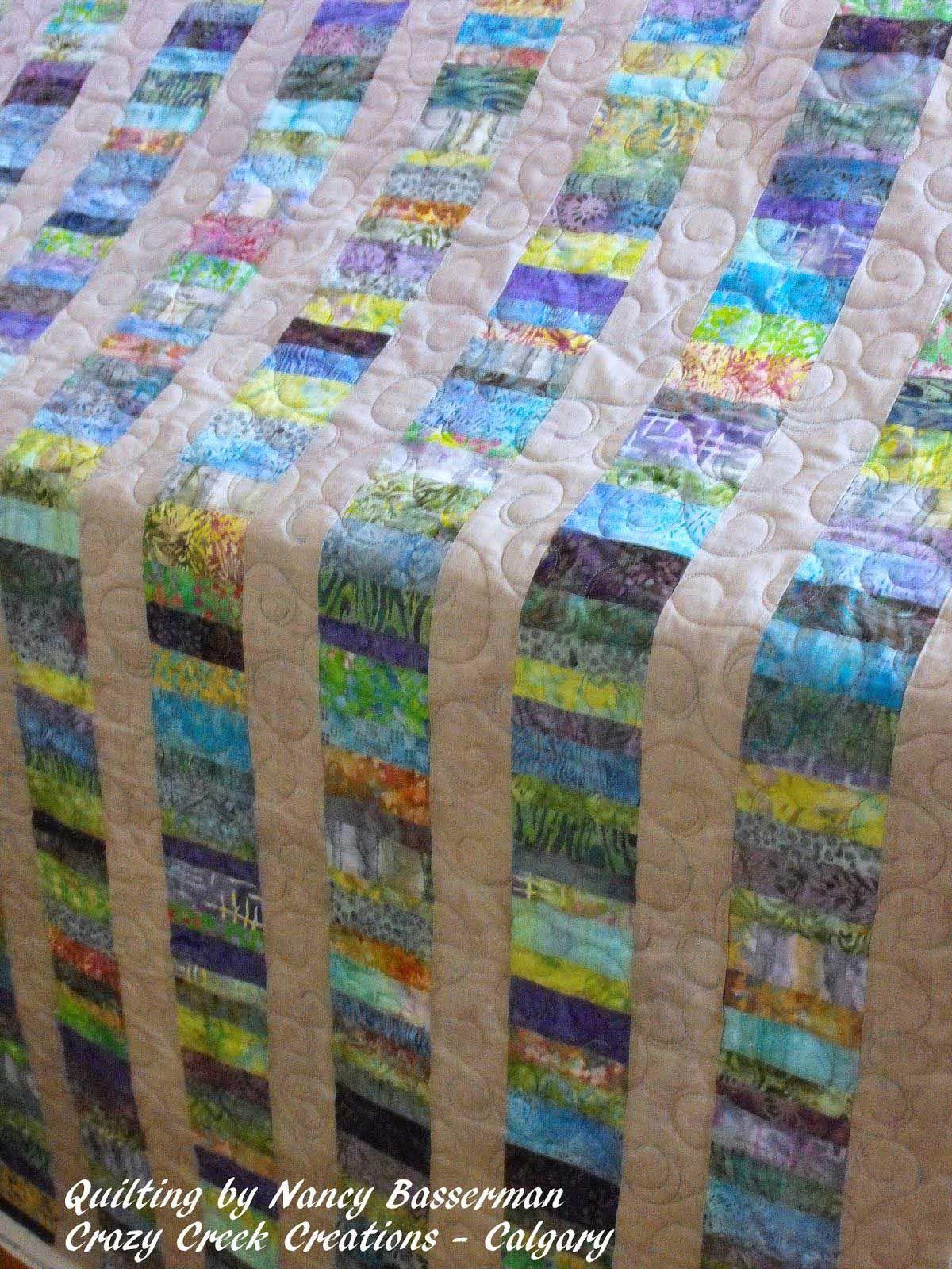 40 Stunning Ideas Of Jelly Roll Batik Quilts