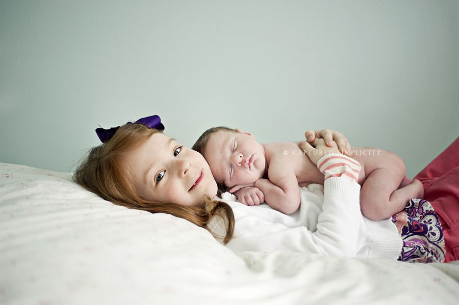 newborn/sibling. Just insert a couple more kids and this is the kind ...
