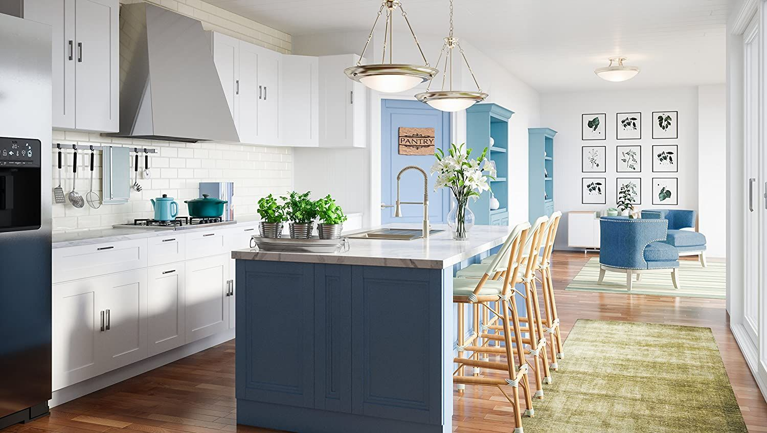 Create A Stunning Kitchen With Design House Brookings Kitchen Cabinets We Offer You A Less Expensive O In 2020 House Design Kitchen Kitchen Base Cabinets House Design