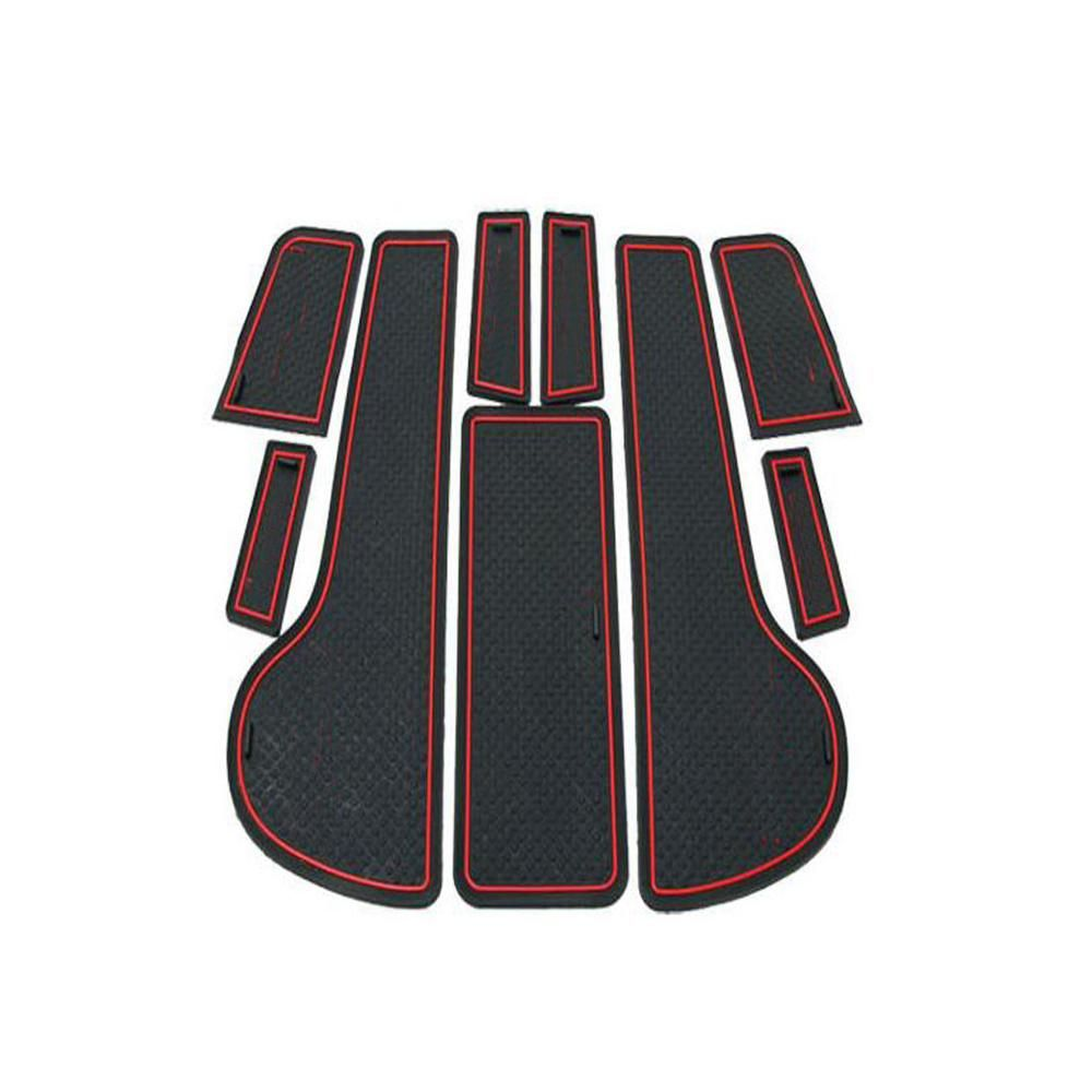 Dongzhen nonslip interior door pad cup mat car styling fit for
