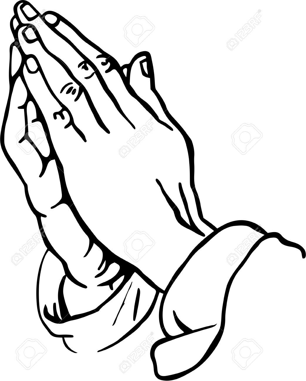 praying hands clipart stock photo picture and royalty free image rh pinterest com clip art praying hands with rosary clip art praying hands black and white