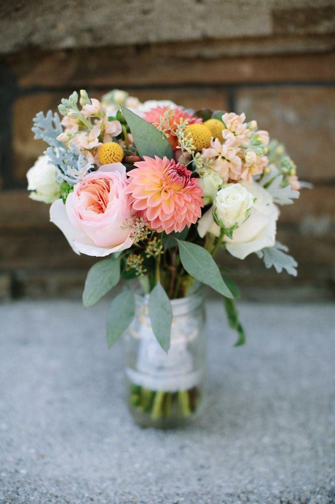 Bridal Bouquet Field Of Flowers Farm Michigan Wedding Http Caratsandcake