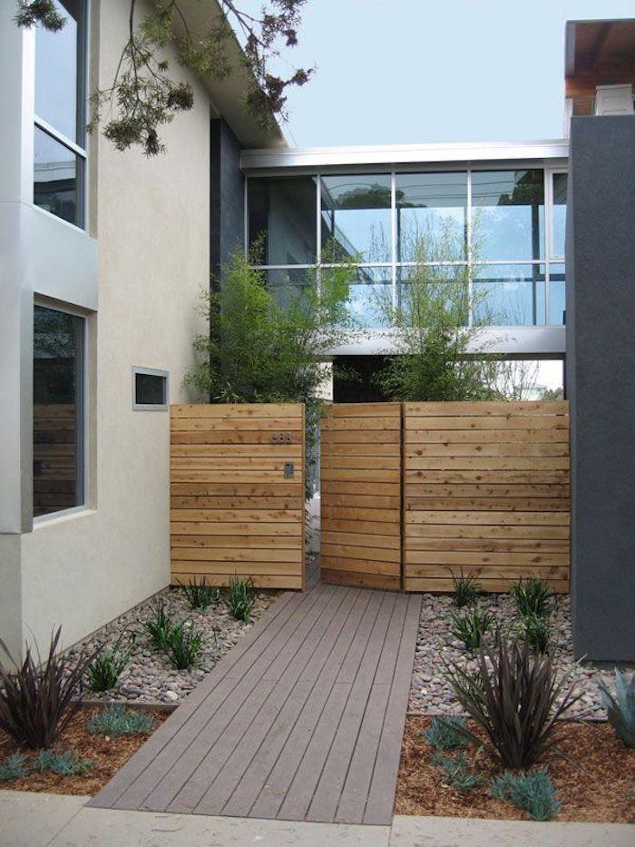 ▷ 1001 + Ideen und Bilder zum Thema Vorgarten modern gestalten
