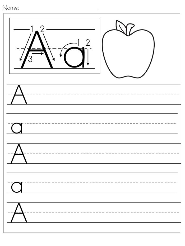 preschool writing worksheets letter a k5 worksheets alphabet and numbers learning. Black Bedroom Furniture Sets. Home Design Ideas