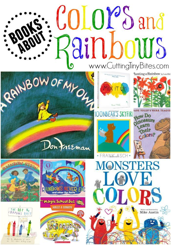 Books About Colors And Rainbows Preschool Colors Teaching Colors Toddler Books Color review activities for preschool
