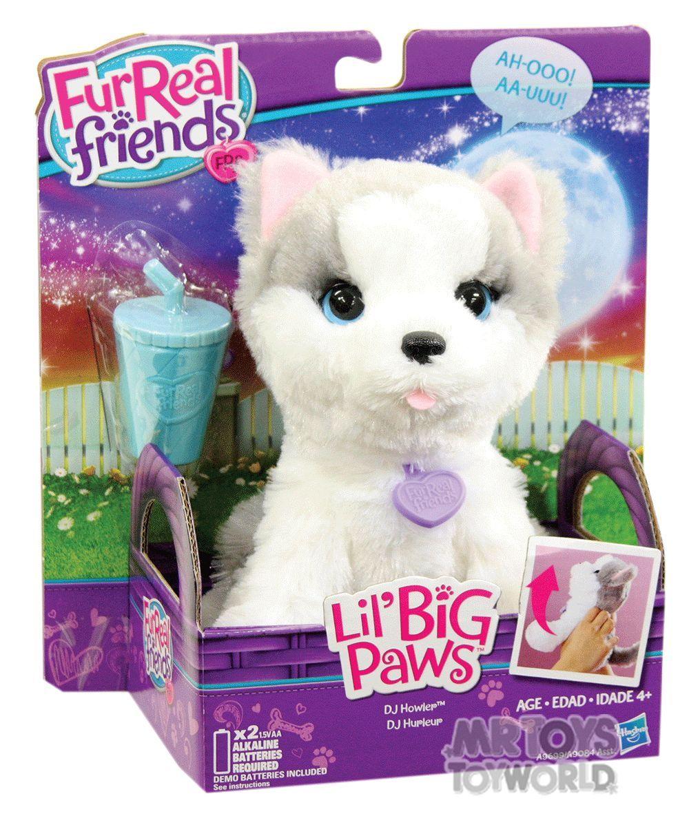 Amazon Com Furreal Friends Li L Big Paws Dj Howler Pet Toys
