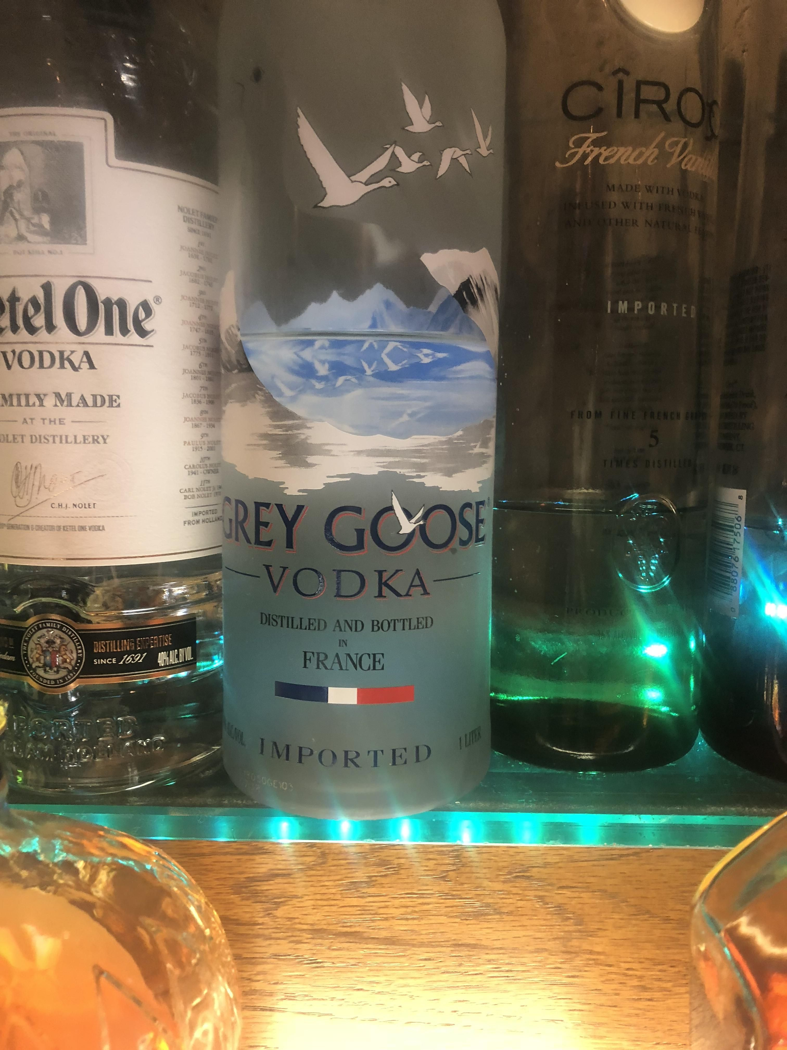 I Just Feel Like This Grey Goose Bottle Is At The Perfect Level Grey Goose Bottle Bottle Grey Goose Vodka