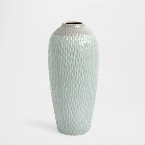 Keramikvase in Blau - Vasen - Dekoration | Zara Home Schweiz