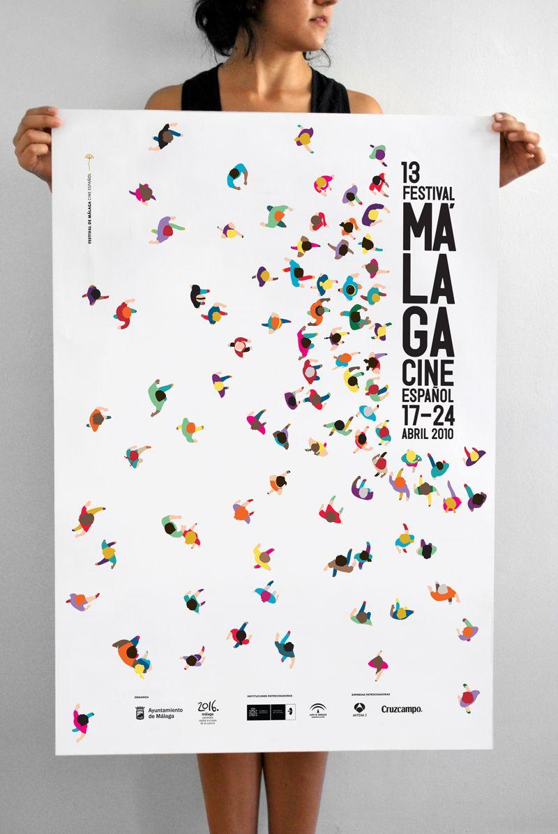 festival malaga poster Poster Pinterest