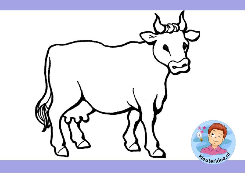 Koe In Wei Maken Met Kleuters Kleuteridee Nl Free
