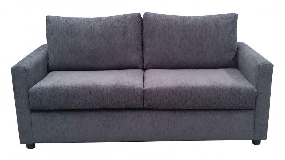 Sofa Bed Grey Fabric