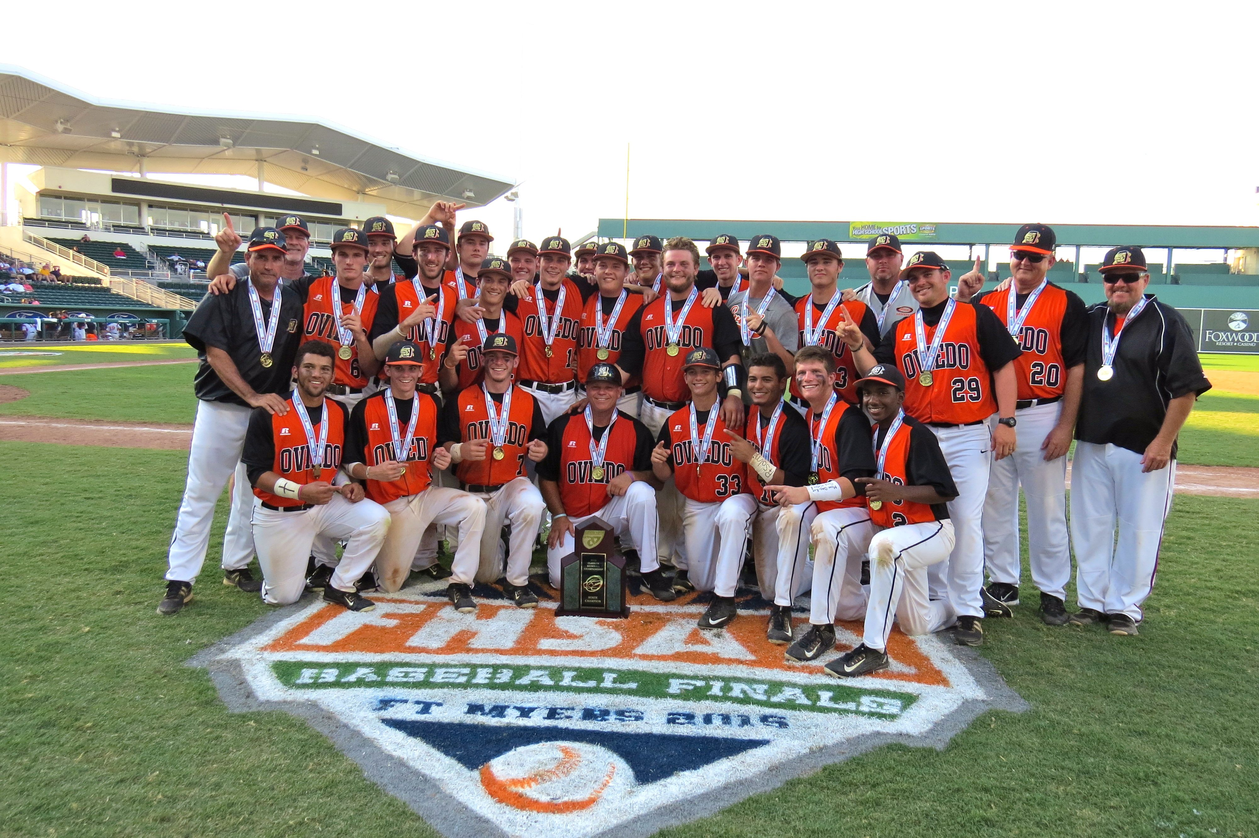 Oviedo Baseball Makes History With Its First State Title Oviedo Baseball History