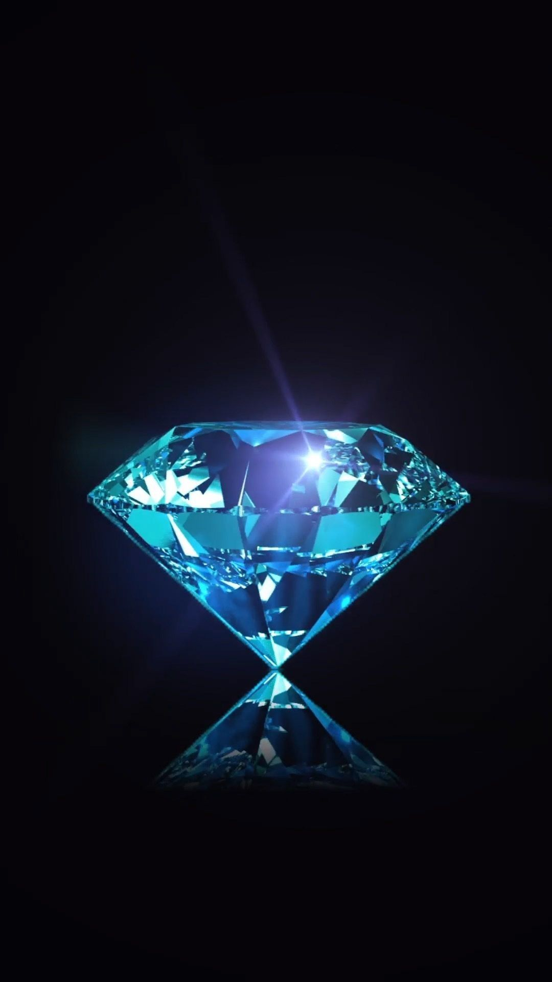The Clear Colorless Diamond Is Not Influenced By Color Energy Rather It Is A Stone Of Light An I In 2020 Diamond Wallpaper Iphone Diamond Wallpaper Blue Wallpapers