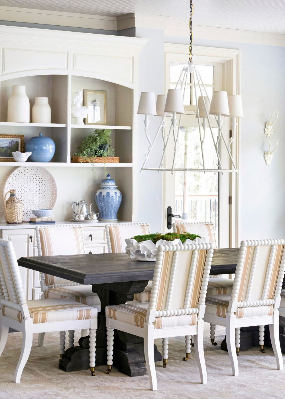 Dining Room Design Trends: Living Room In White Color In 2020