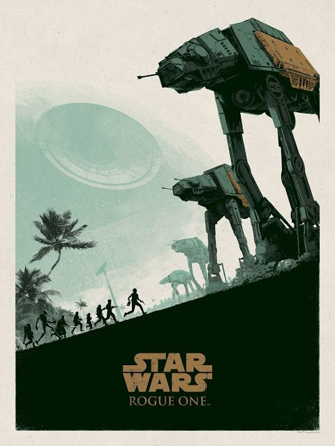'Star Wars: Rogue One' by Matt Ferguson | Displate thumbnail