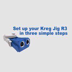 Quick Tip: Set Up Your Kreg Jig® R3 in 3 Simple Steps