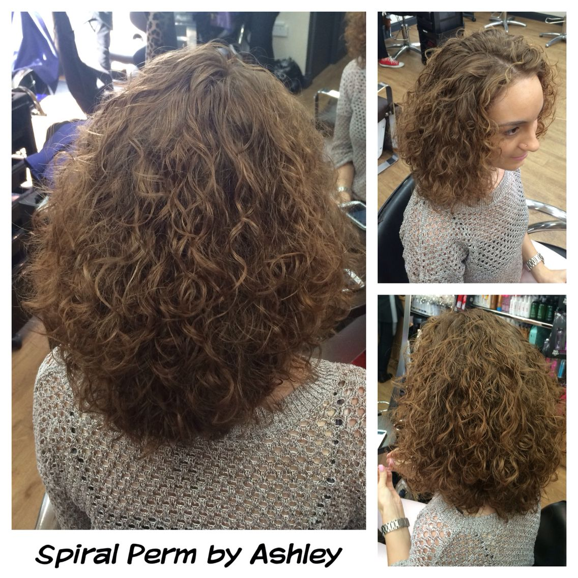 Spiral Perm by Ashley | Hairstyles in 2019 | Short permed ...