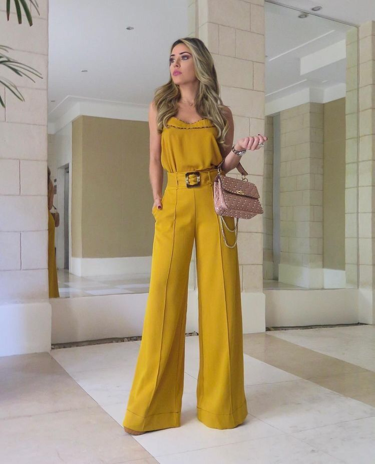 56 Outfits Con Pantalones Palazzo Para Lucir Con Estilo 2019 Pantalones Elegantes Para Mujer Pantalones De Moda Ropa De Moda