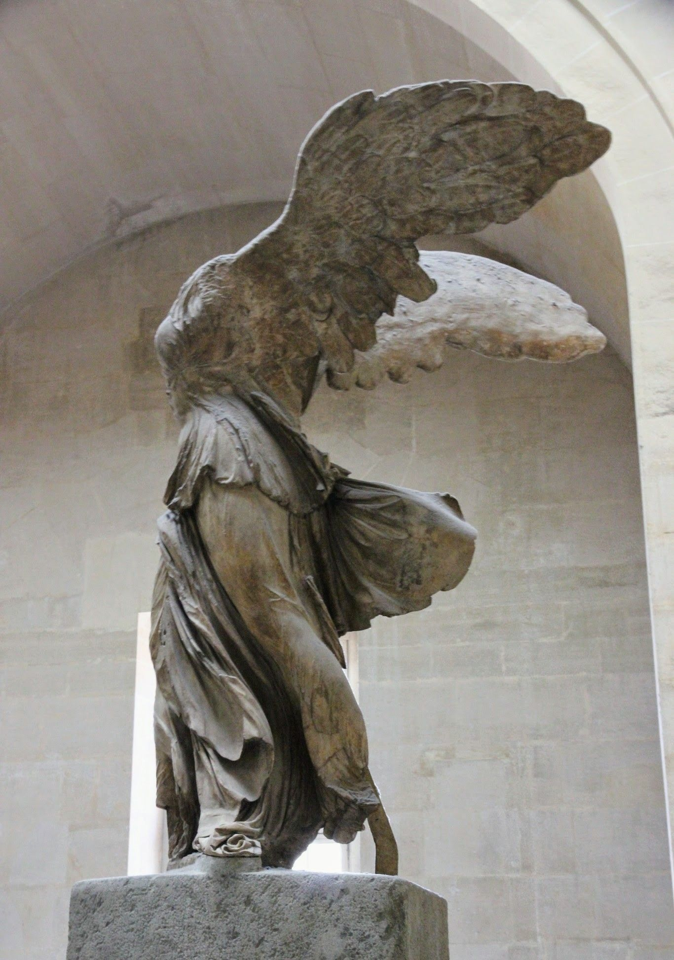 Winged Victory, Nike of Samothrace, Louvre, Paris