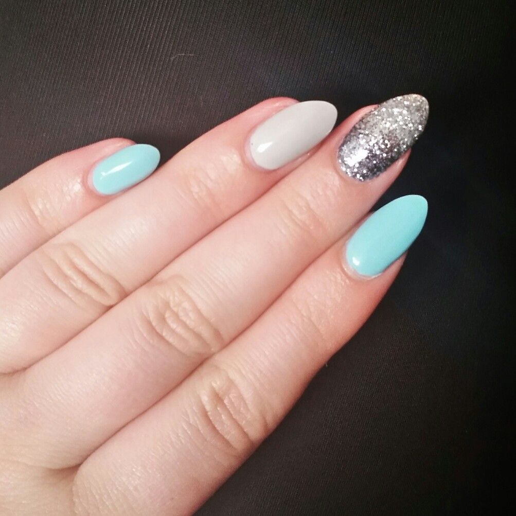 tiffany blue grey and ombre silver