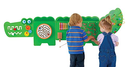 Amazonsmile Learning Advantage Crocodile Activity Wall Panels Toddler Activity Center Wall Mounted Toddler Activities Activity Centers Kids Toys