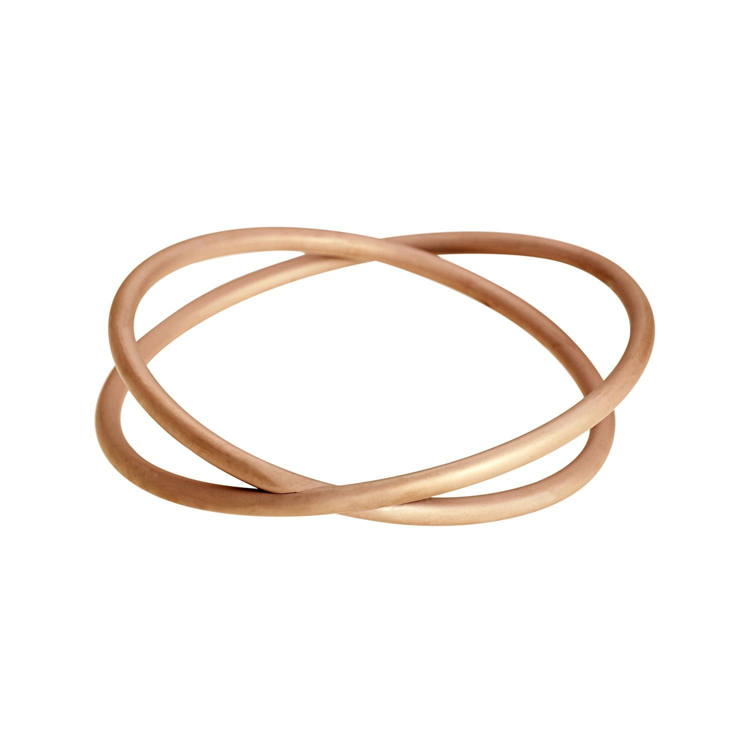 713ffff096 Calvin Klein Continue Stainless Steel Rose Gold PVD Coated Women s Fashion  Bracelet