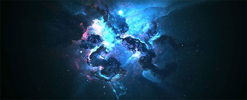 Dark Blue Galaxy Wallpaper Engine Blue Galaxy Wallpaper Galaxy Wallpaper Wallpaper