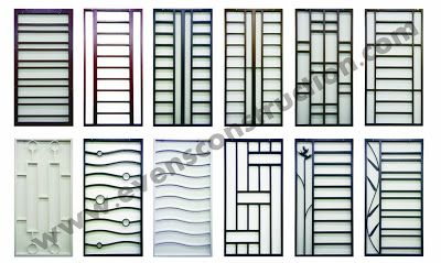 Grill design 400 239 home doors and gate for Window design grill simple