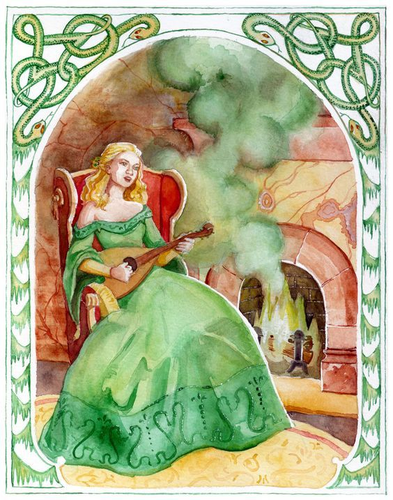 The Chronicles Of Narnia The Silver Chair Lady Of The Green Kirtle Chronicles Of Narnia Narnia Fan Art