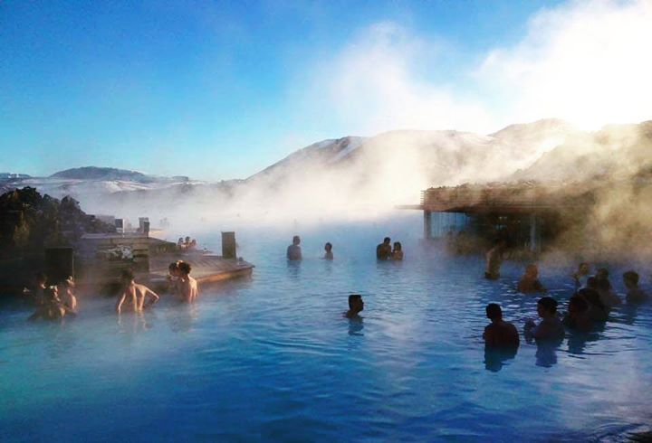 Comparateur de voyages http://www.hotels-live.com : You cant go to #Iceland without taking the best bath of your life in the #BlueLagoon. Its a geothermal spa on top of a lava field in Grindavik on the Reykjanes Peninsula with waters up to 39 degrees. Theres something otherworldly about watching the steam rising over the lunar landscape whilst your feet sink in to the white silica mud below. In addition to the lagoon theres a sauna steam bath carved out of a lava cave and a massaging…