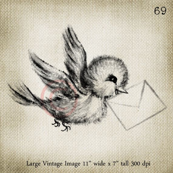 Vintage greetings card air mail vintage bluebird large digital image vintage greetings card air mail vintage bluebird large digital image download sheet transfer to totes pillows m4hsunfo Image collections