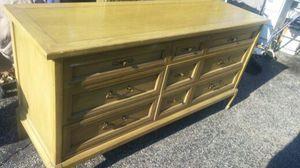 White Fine Furniture Dresser and Mirror $175.00