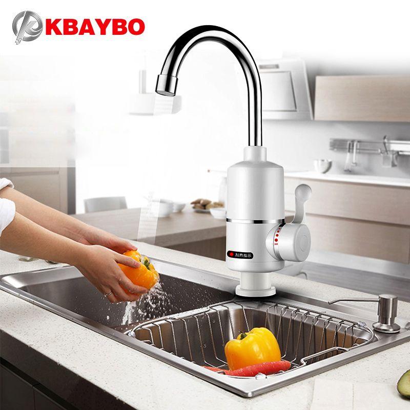 3000 W Elektrische warmwaterkraan Elektrische Boiler Badkamer/Keuken ...