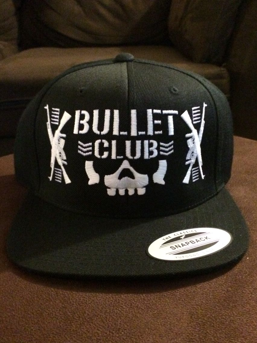 check out 9a38f 8431a Bullet Club Snap Back Hat   BulletClub  SnapBack  NJPW  Indy  SuperKick   TooSweet